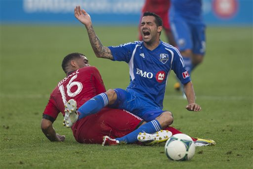 Camara, Di Vaio rally Impact to draw with Toronto