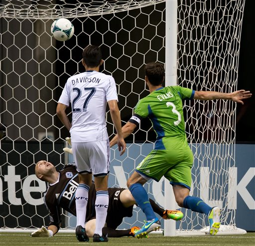 Miller, Mattocks lead Whitecaps past Sounders, 2-0