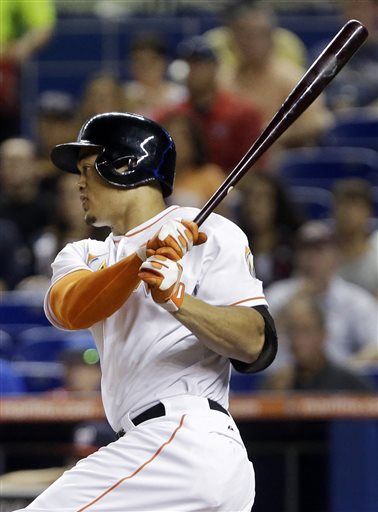 Stanton HR in 9th, Marlins top Nationals in 10th