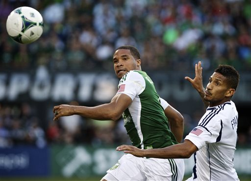 Timbers defeat Galaxy 2-1