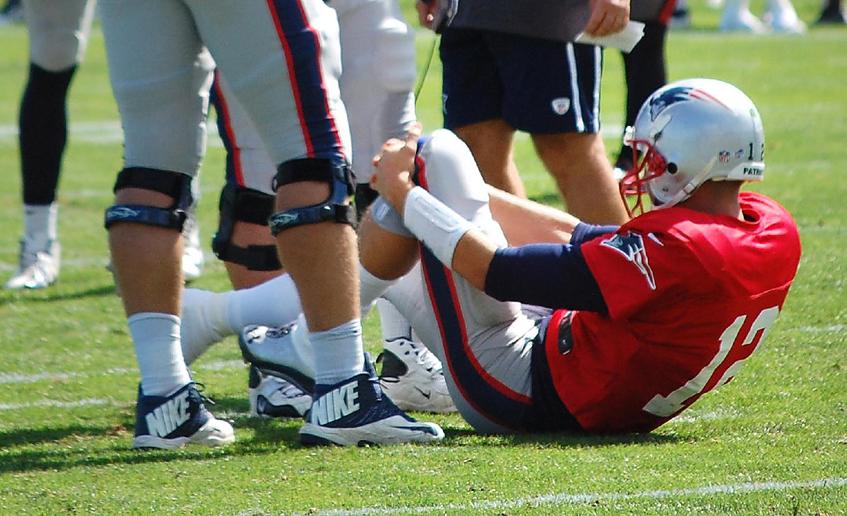Tom Brady's injury nearly put an end to New England's unprecedented run. (AP)