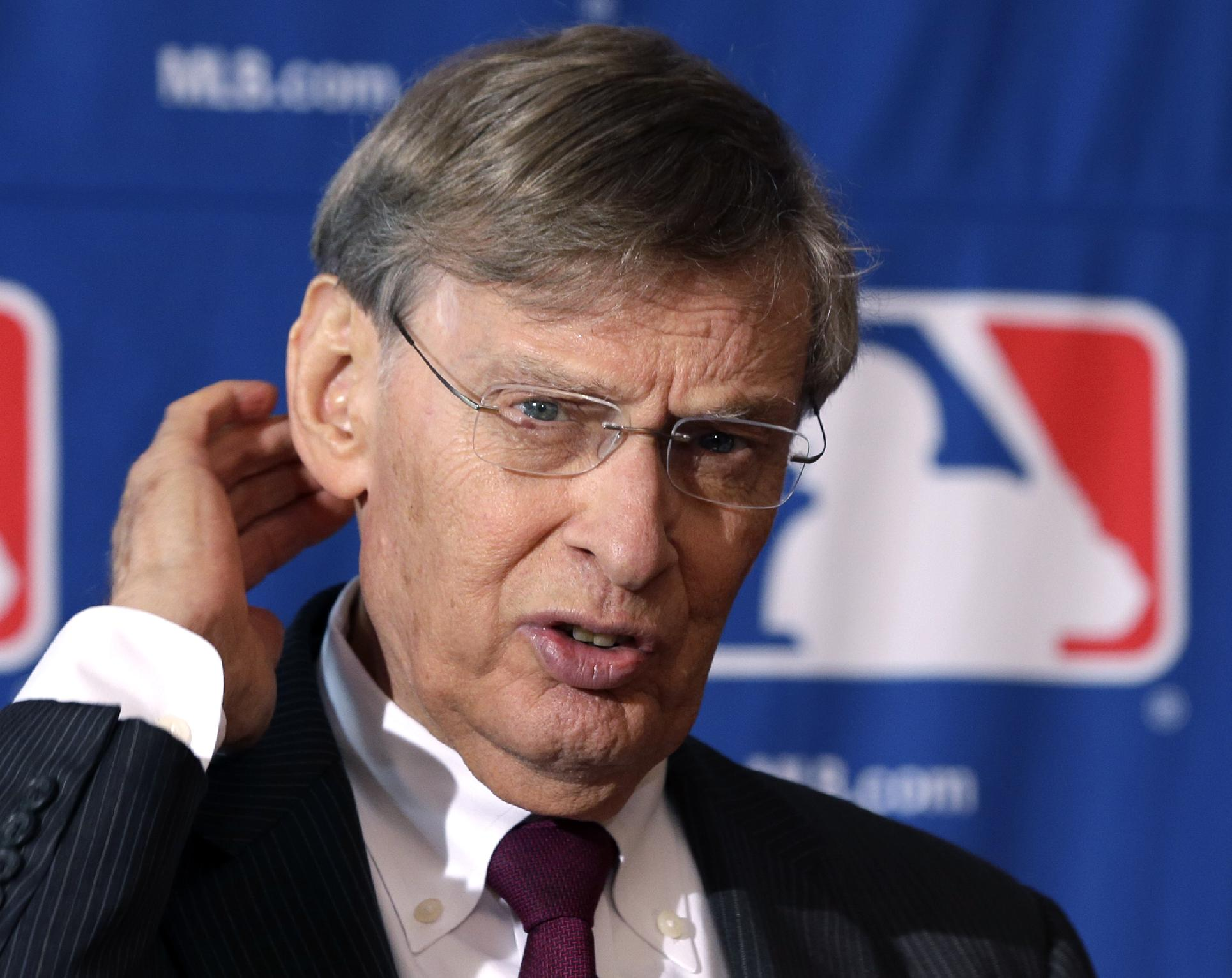 Bud Selig now supports the need for more instant replay. (AP)