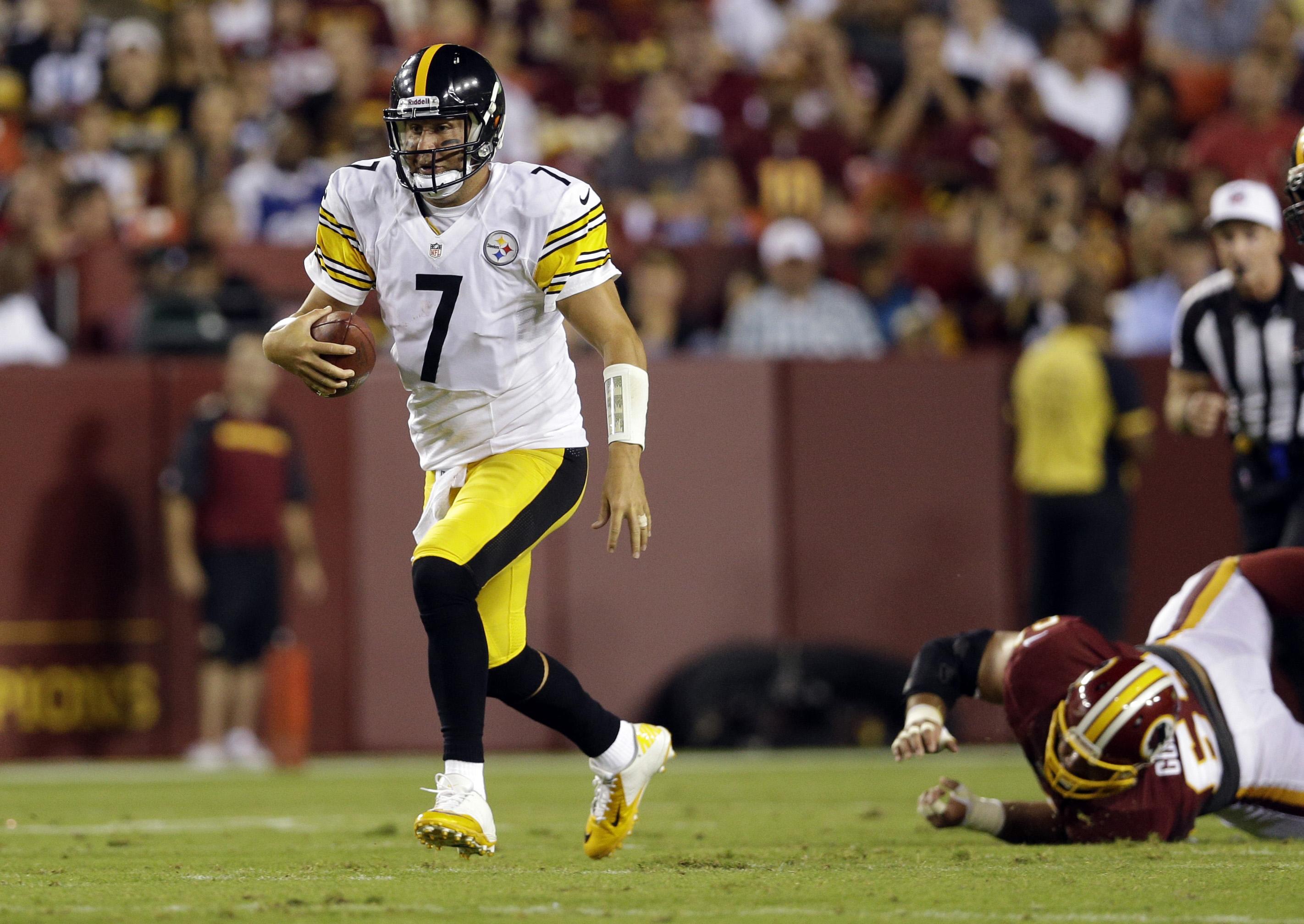 RG3's backup hurt; Redskins top Steelers 24-13