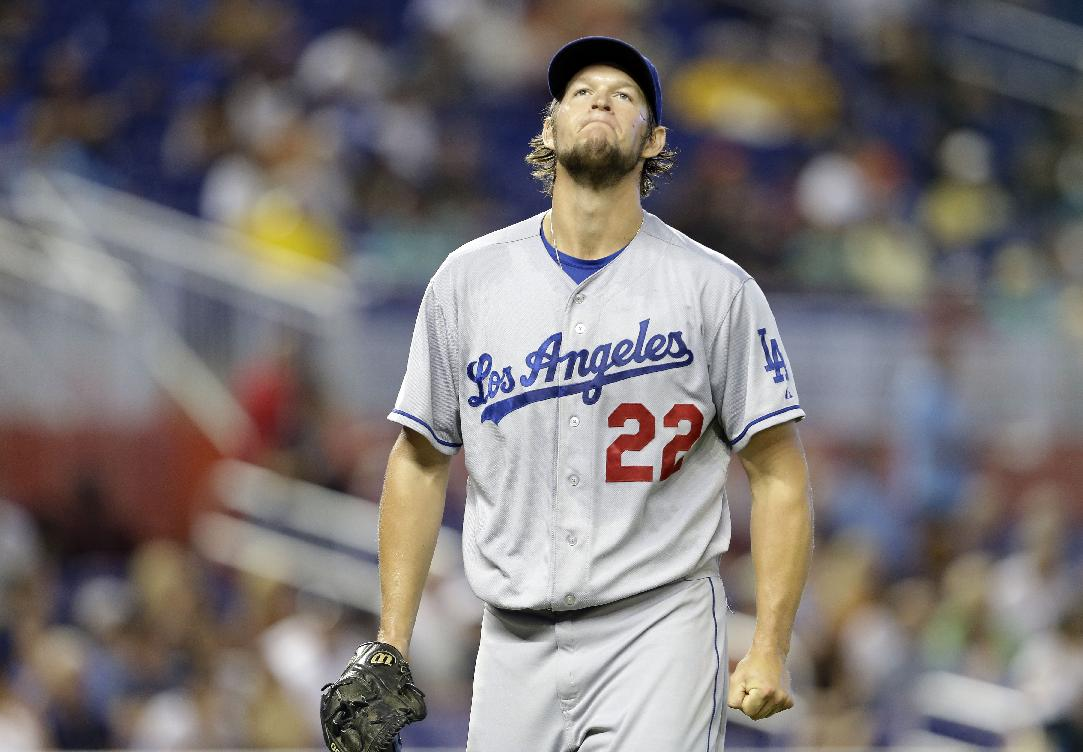 Clayton Kershaw is the runaway favorite to win the NL Cy Young award this season. (AP)
