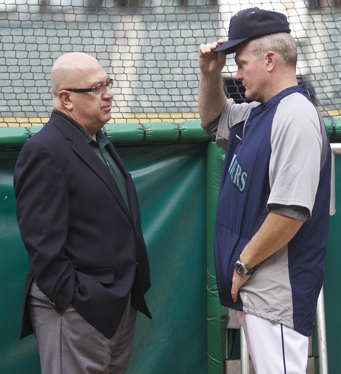 Mariners GM Jack Zduriencik might get a chance to return for another season. (AP)