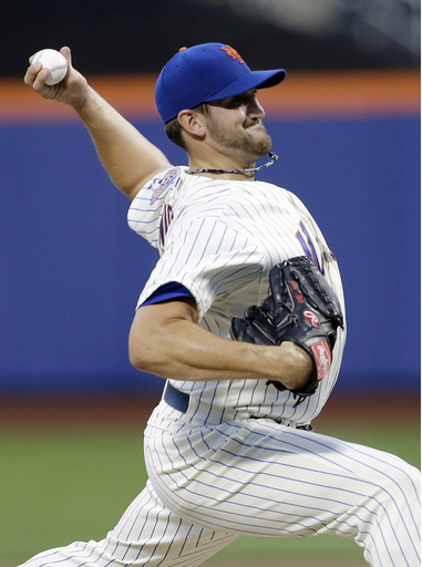 Niese throws 3-hitter, drives in 3, Mets top Phils