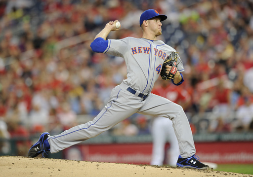 Mets get 17 hits to back Wheeler, rout Nats 11-3