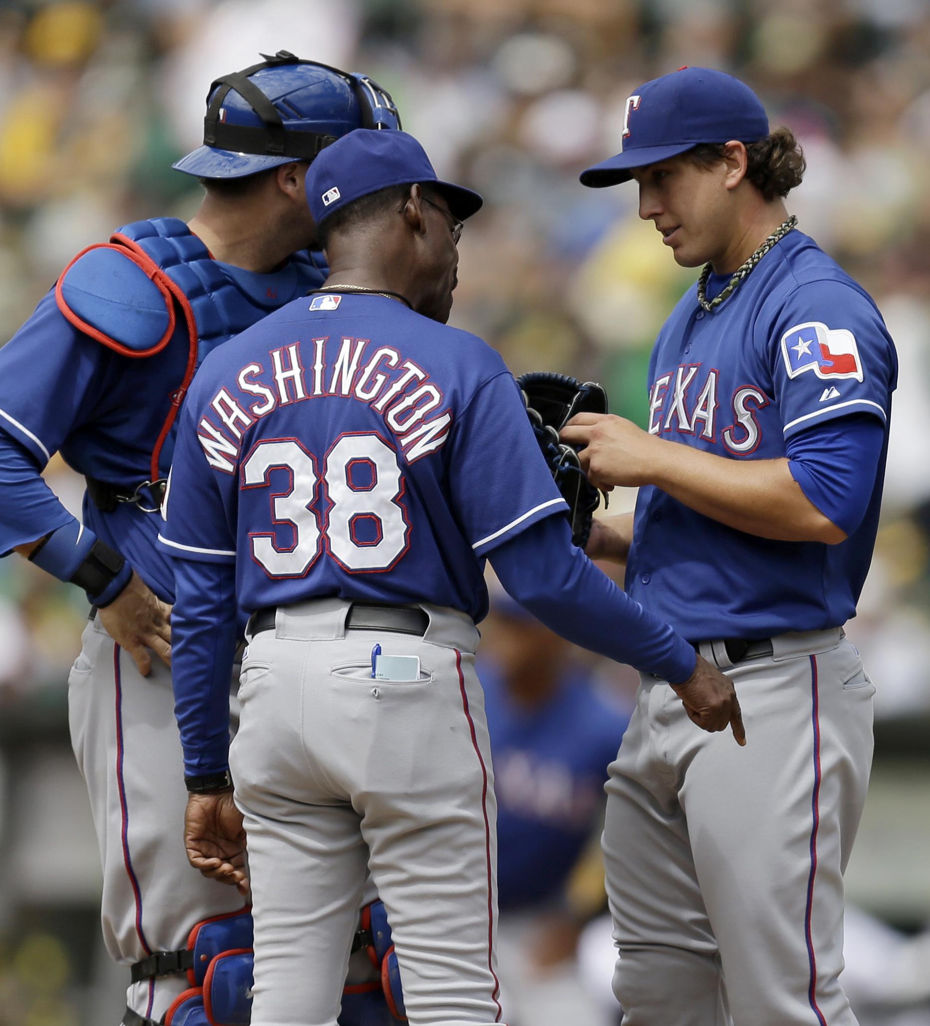 Athletics pull into tie with Texas atop AL West