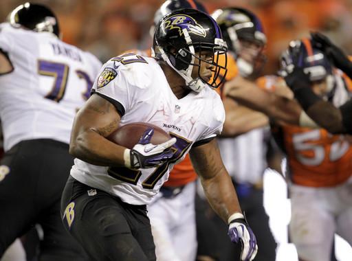 Manning's 7 TDs lead Broncos past Ravens, 49-27