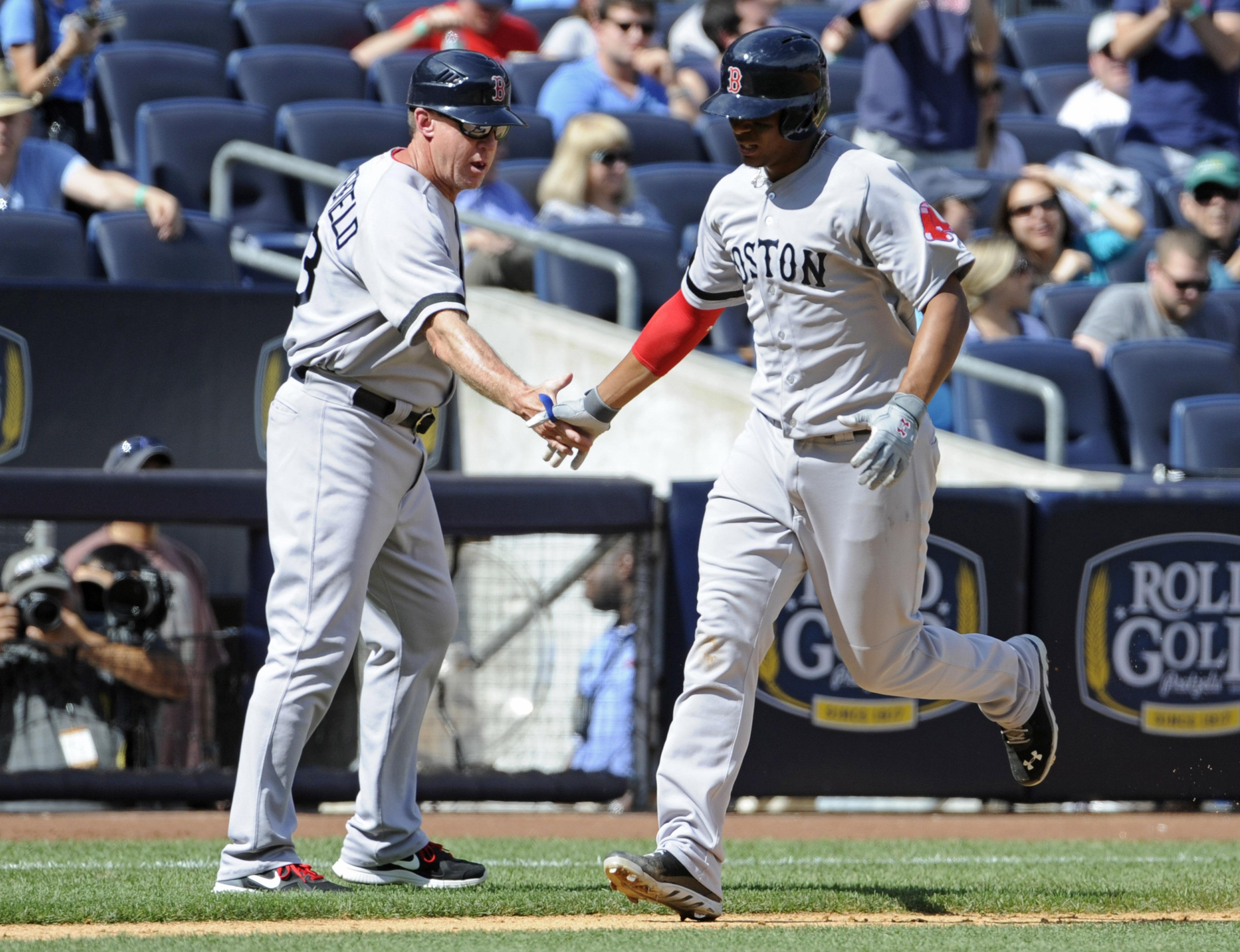 Napoli hits 2 HRs, Red Sox bash Yanks 13-9