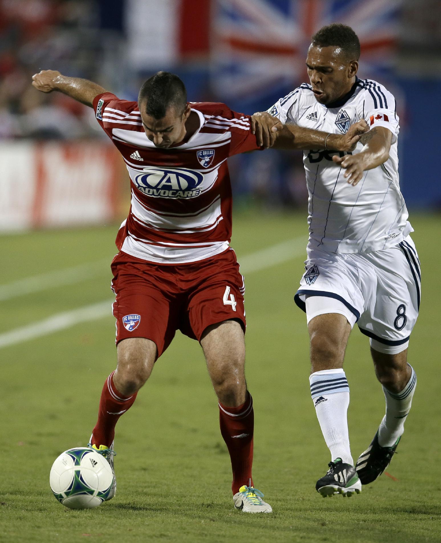 Diaz, Benitez lead FC Dallas past Whitecaps
