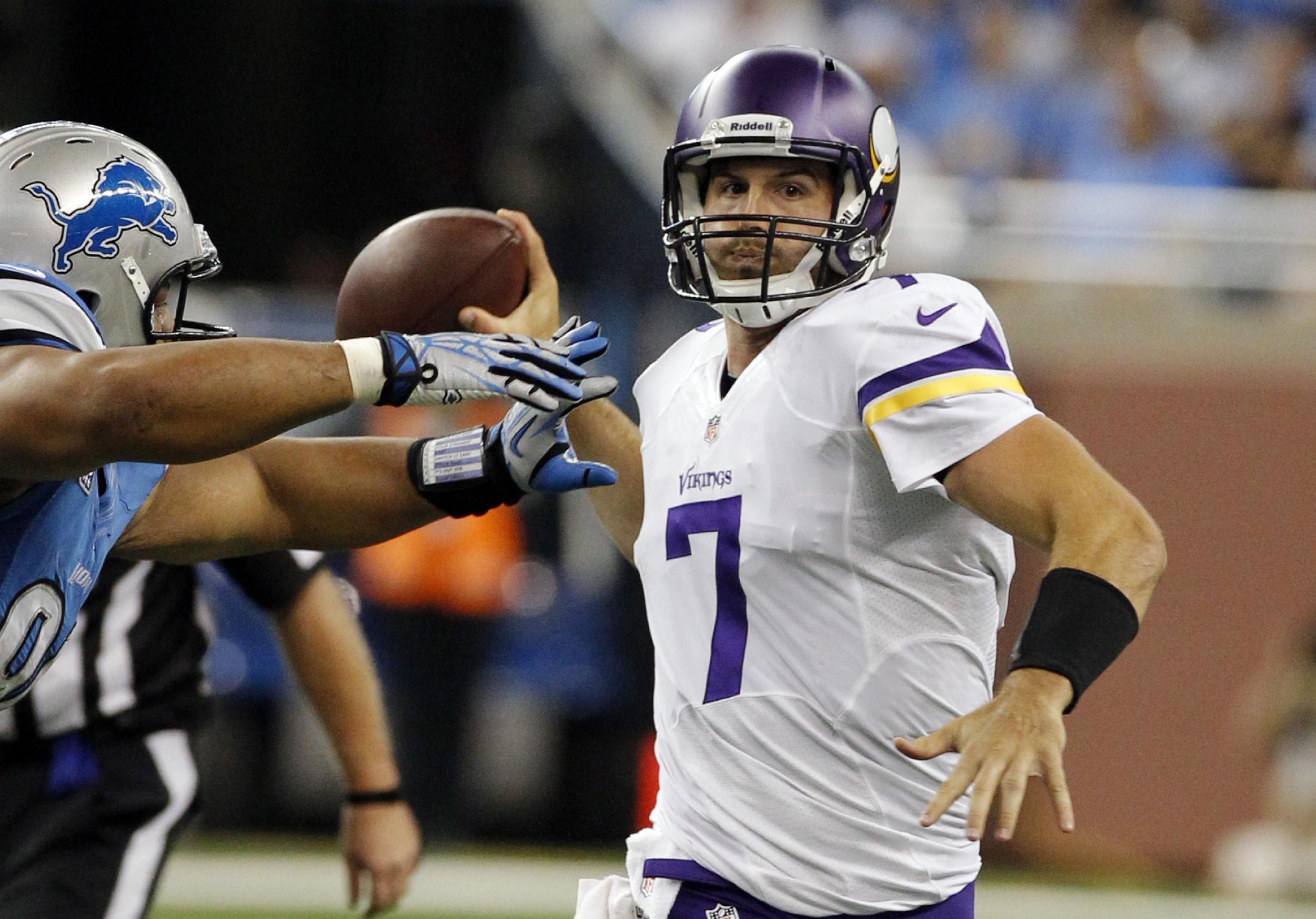 Turnover-prone Ponder must improve for Vikings