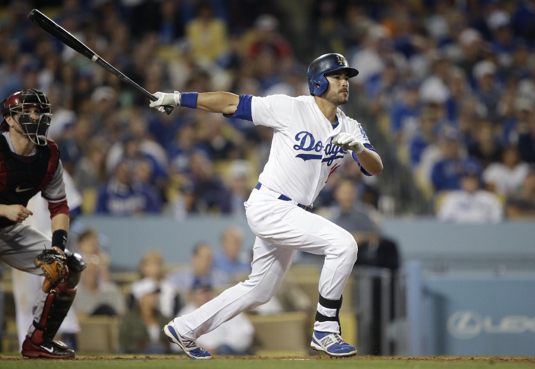 Dodgers beat Diamondbacks 5-3 in 11 innings