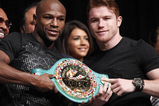 Mayweather lives the life with $41 million payday