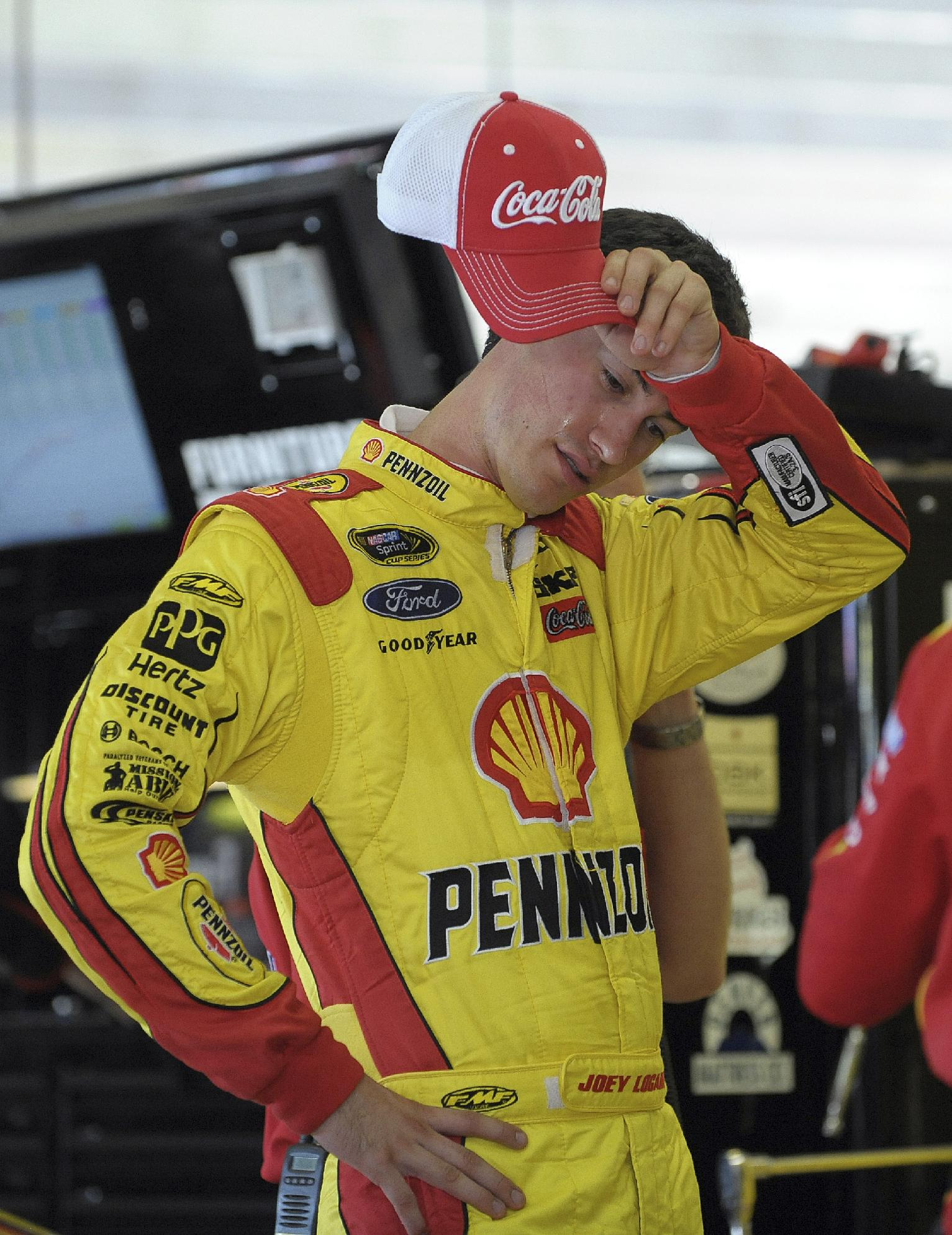 Logano defends spot in NASCAR's Chase field