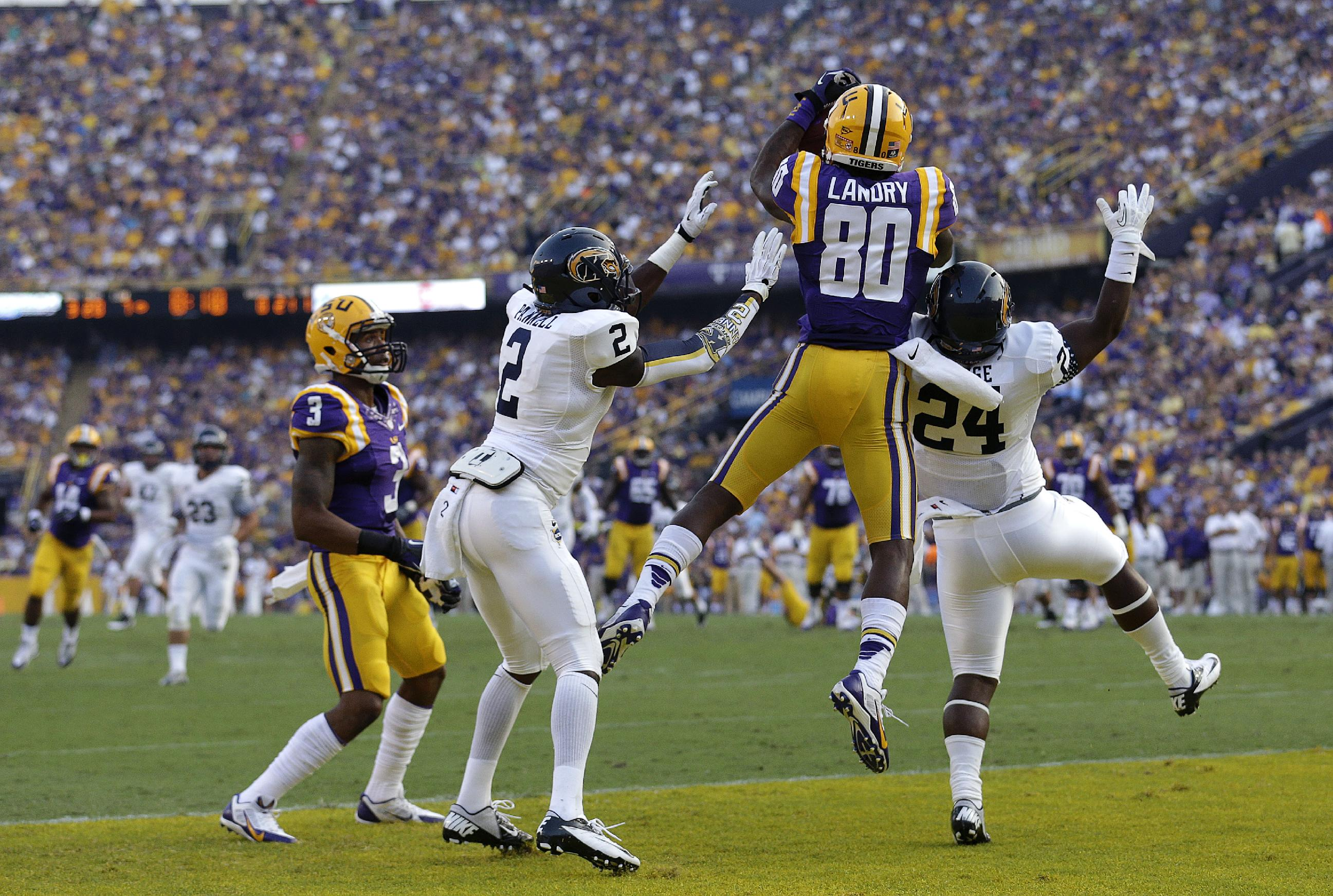 LSU has ridden dynamic offense to No. 6 in poll