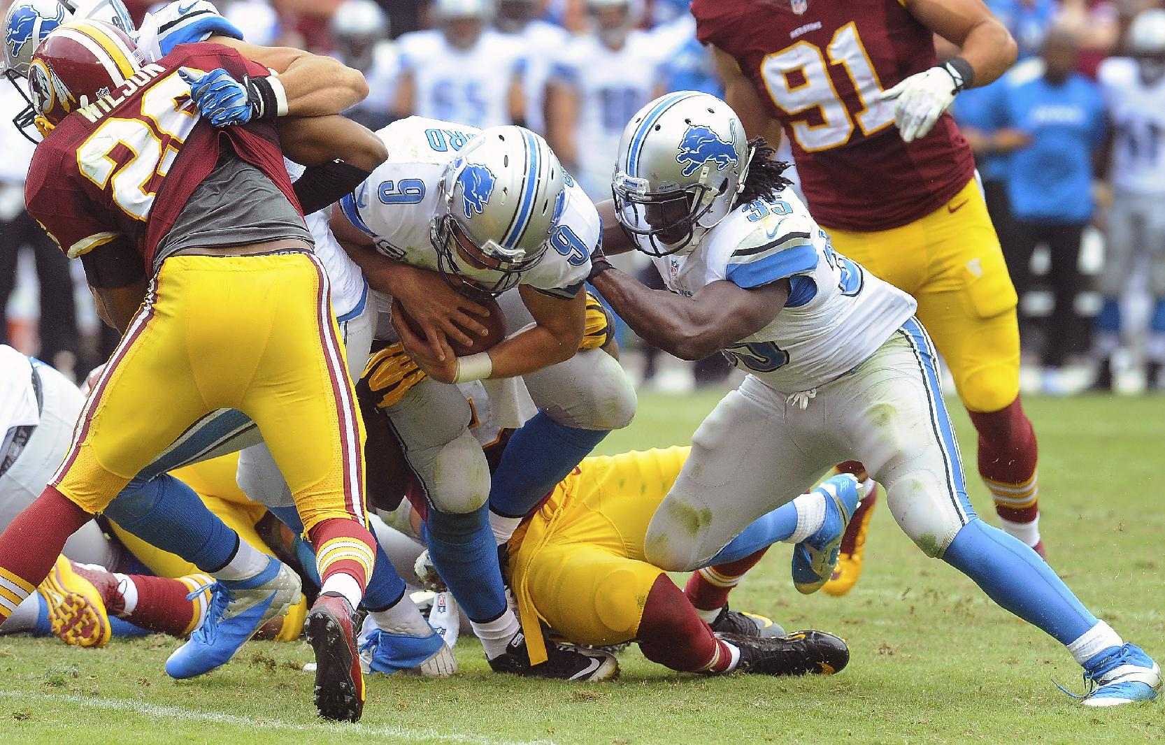 Lions looking better after win at Washington