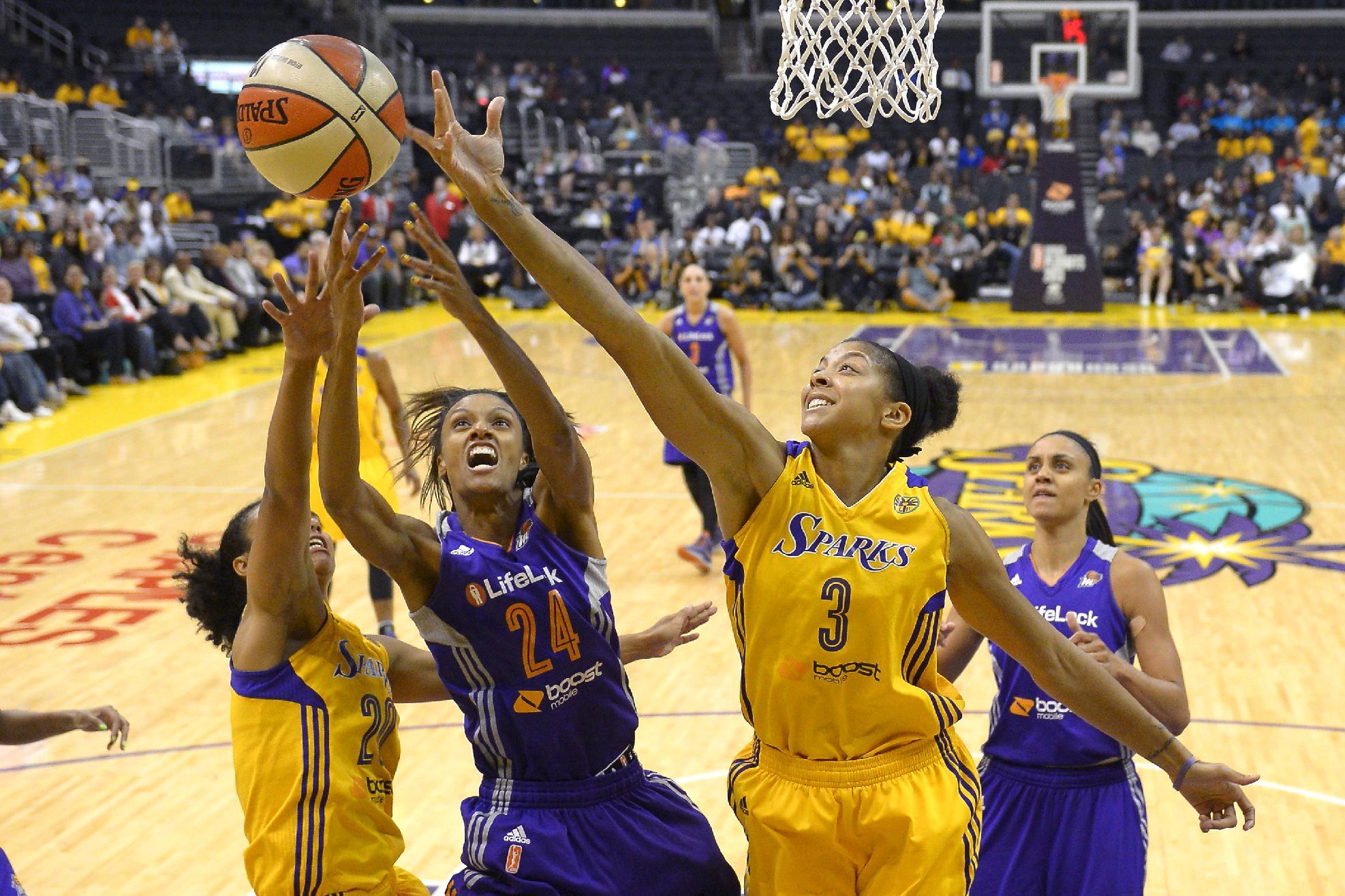 Mercury beat Sparks 78-77 on Griner's late basket