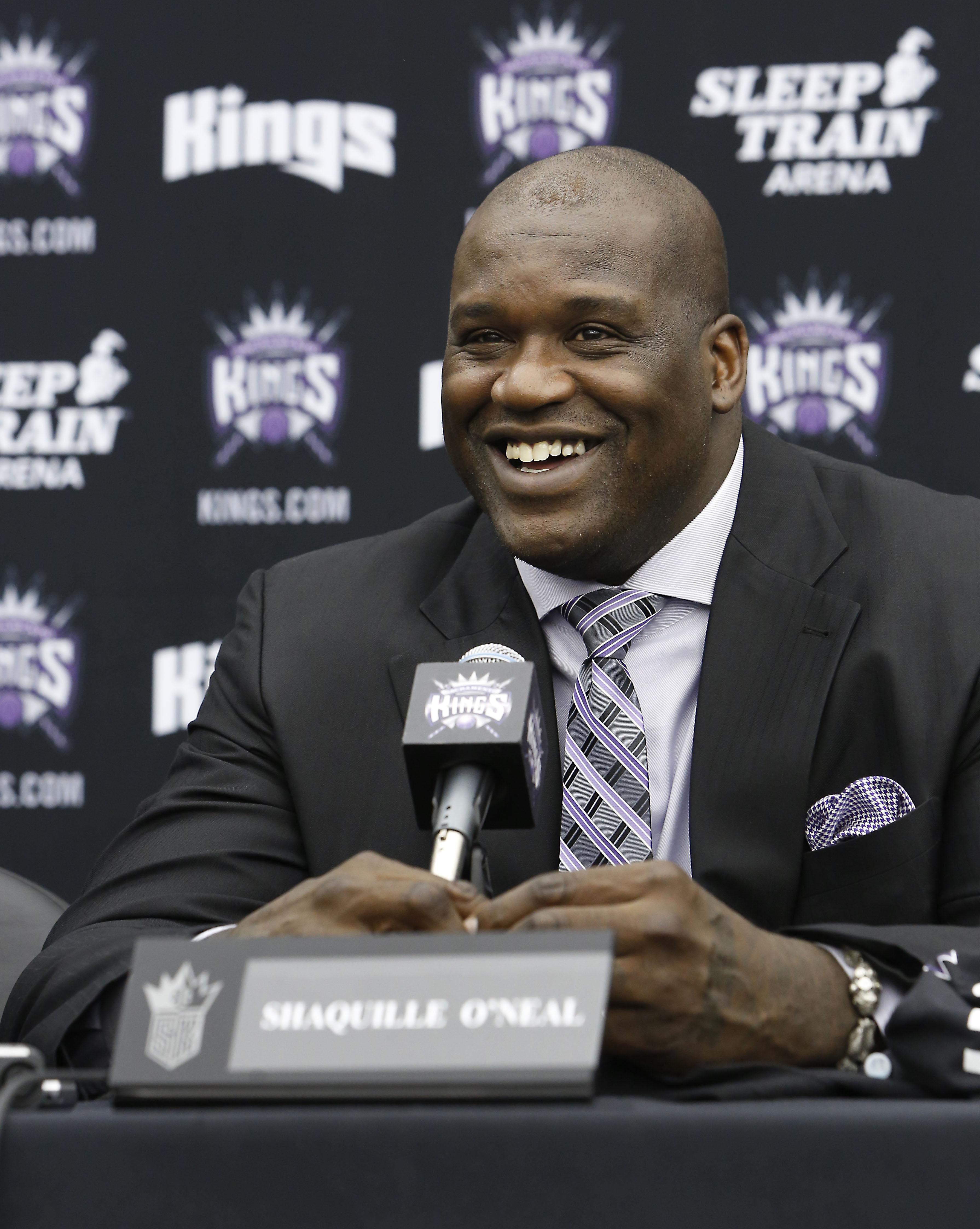 Shaq shows Sacramento love as Kings minority owner