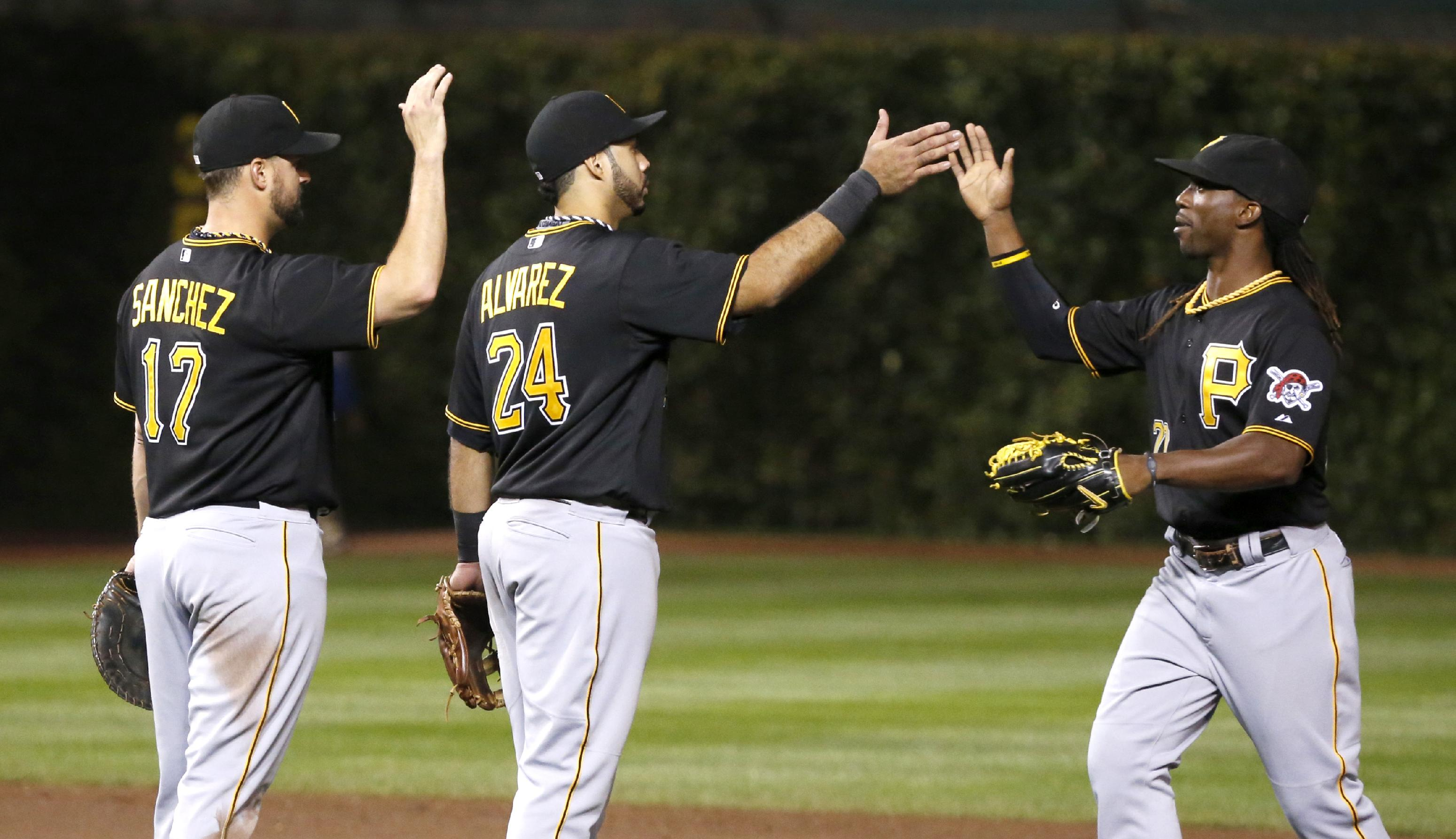Cole, Pirates take wild-card lead, beat Cubs