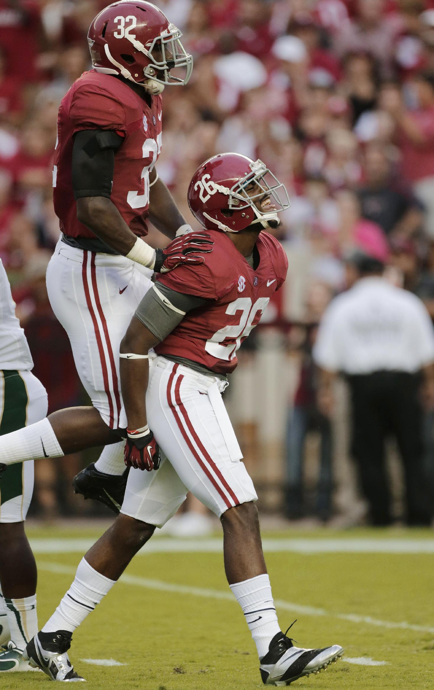 Bama seeking complete game vs. No. 21 Mississippi