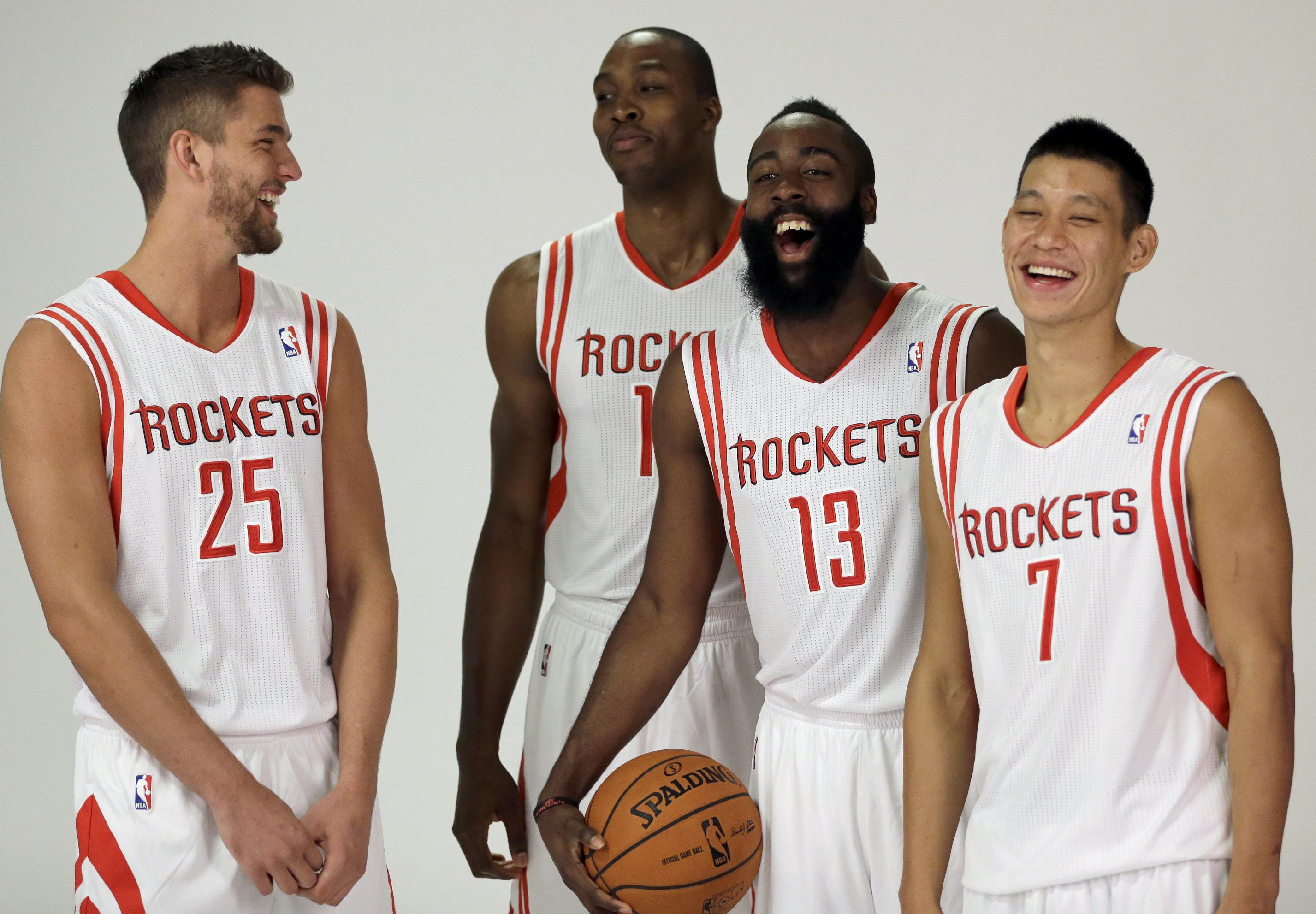 Howard healthy and talking titles in Houston