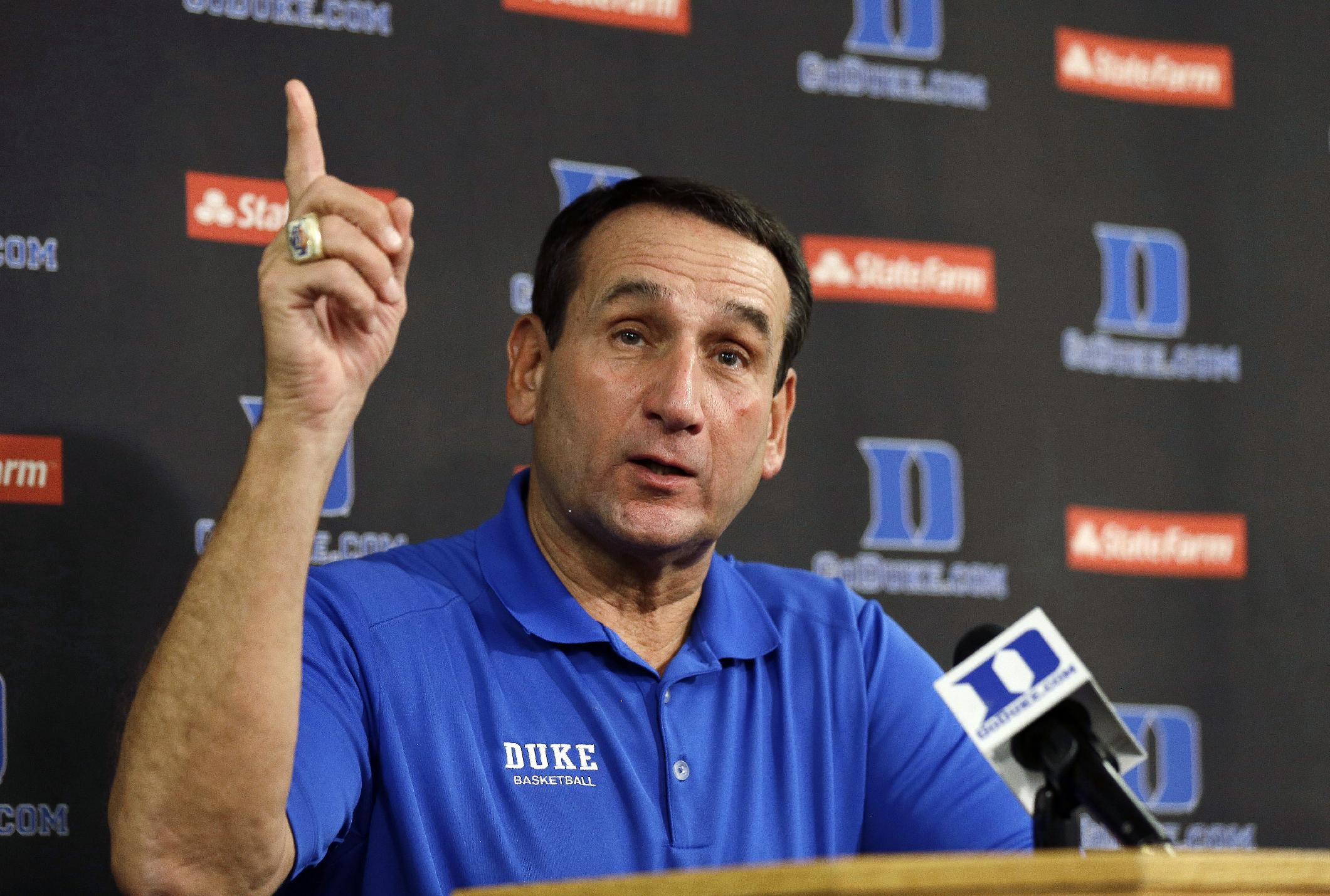 Duke begins practice with eye on Final Four