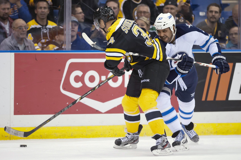 Bruins beat Jets 5-0 in preseason finale