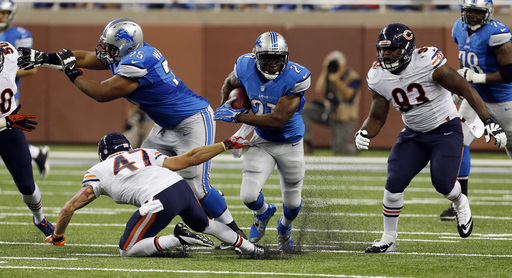 Lions' O line paving the way for team's success