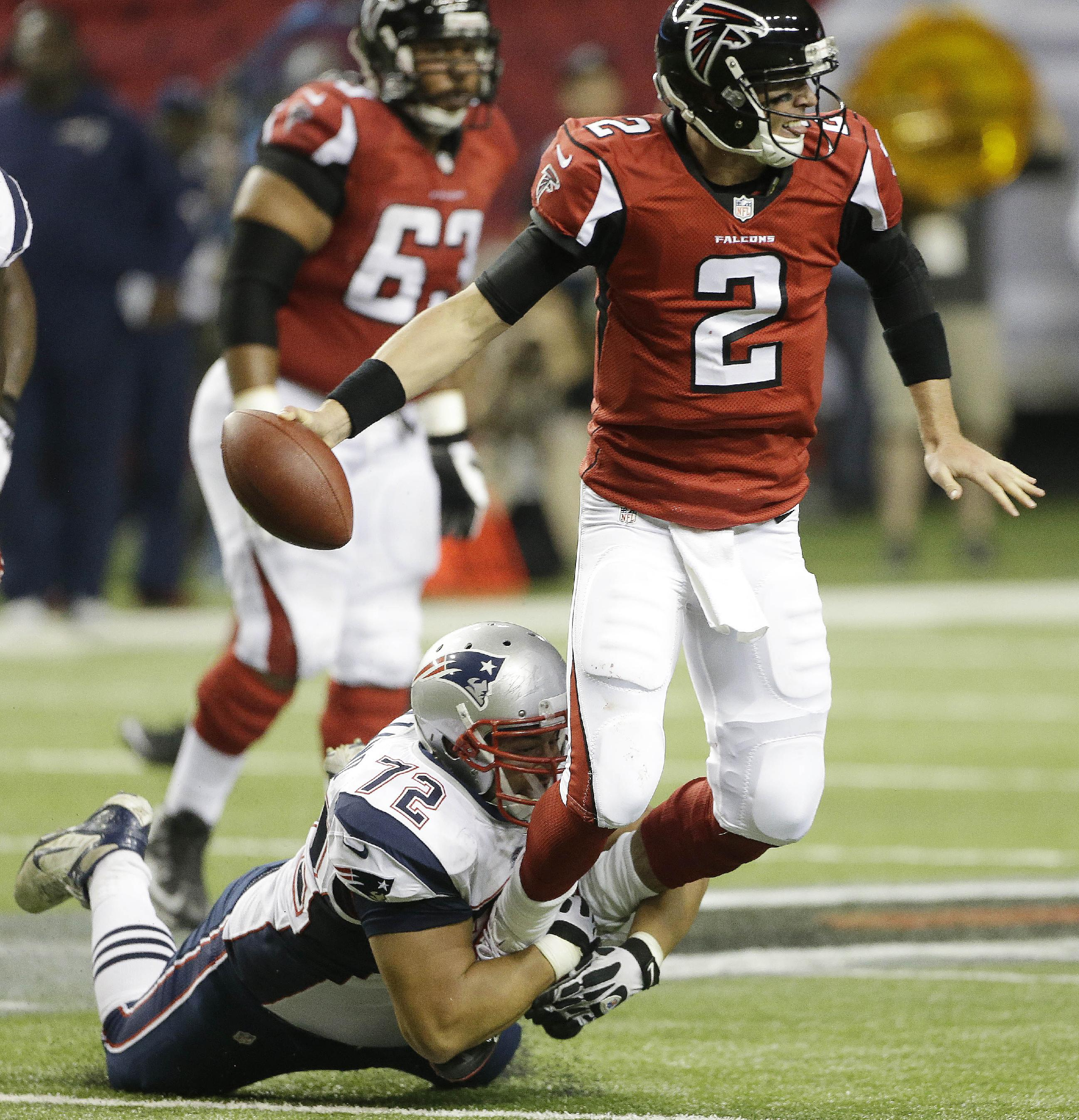 Falcons to focus on themselves after 1-3 start