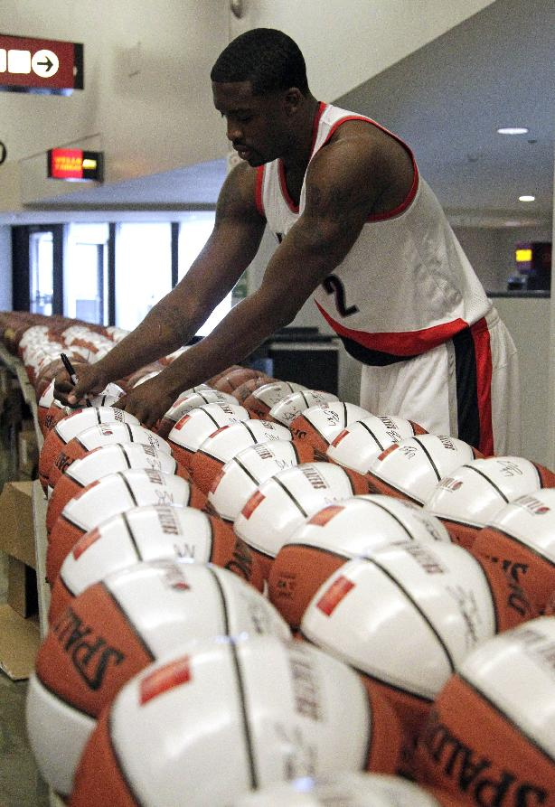 Trail Blazers ready for training camp
