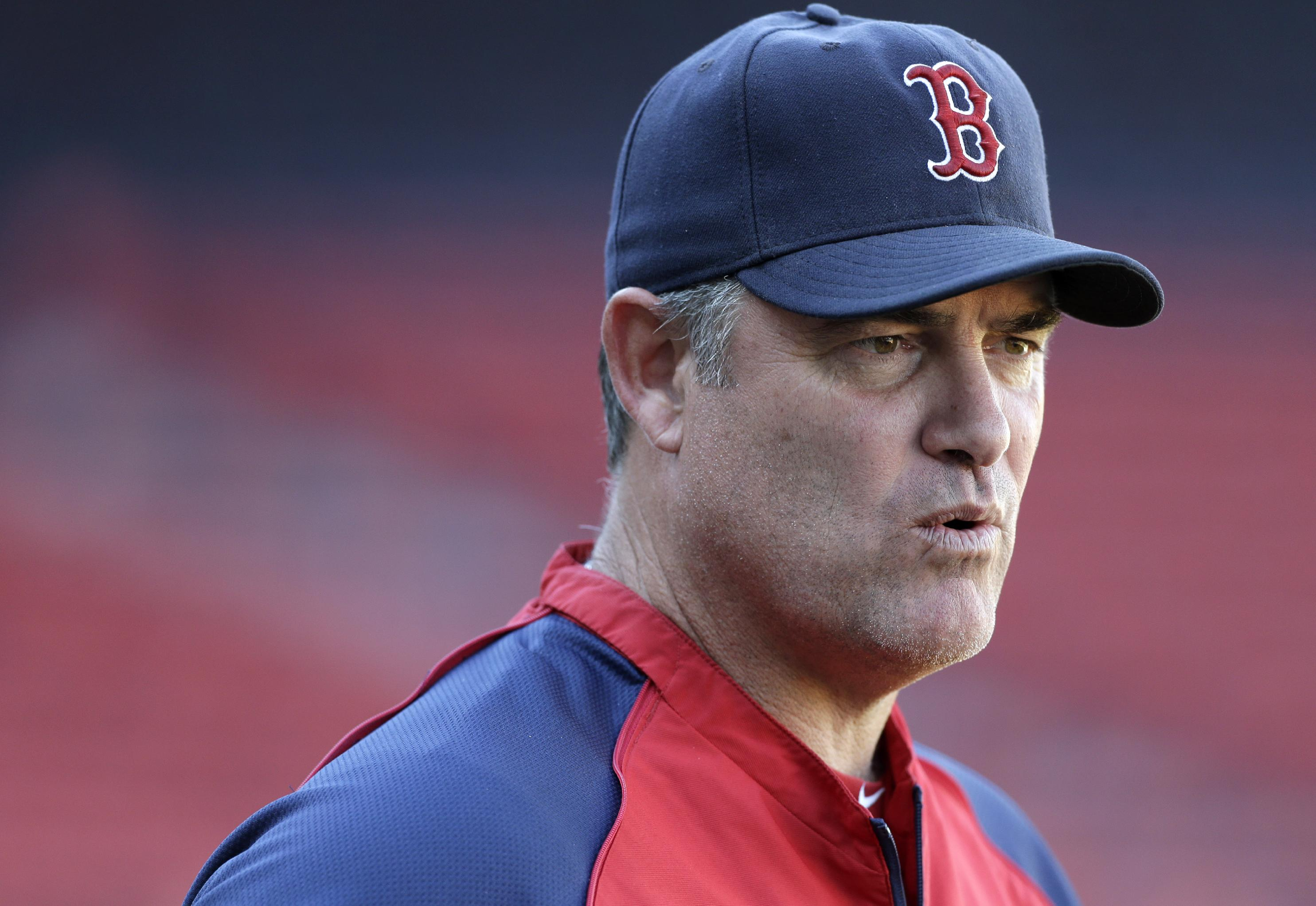 John Farrell guided the Red Sox to their best record in the American League this season. (AP)