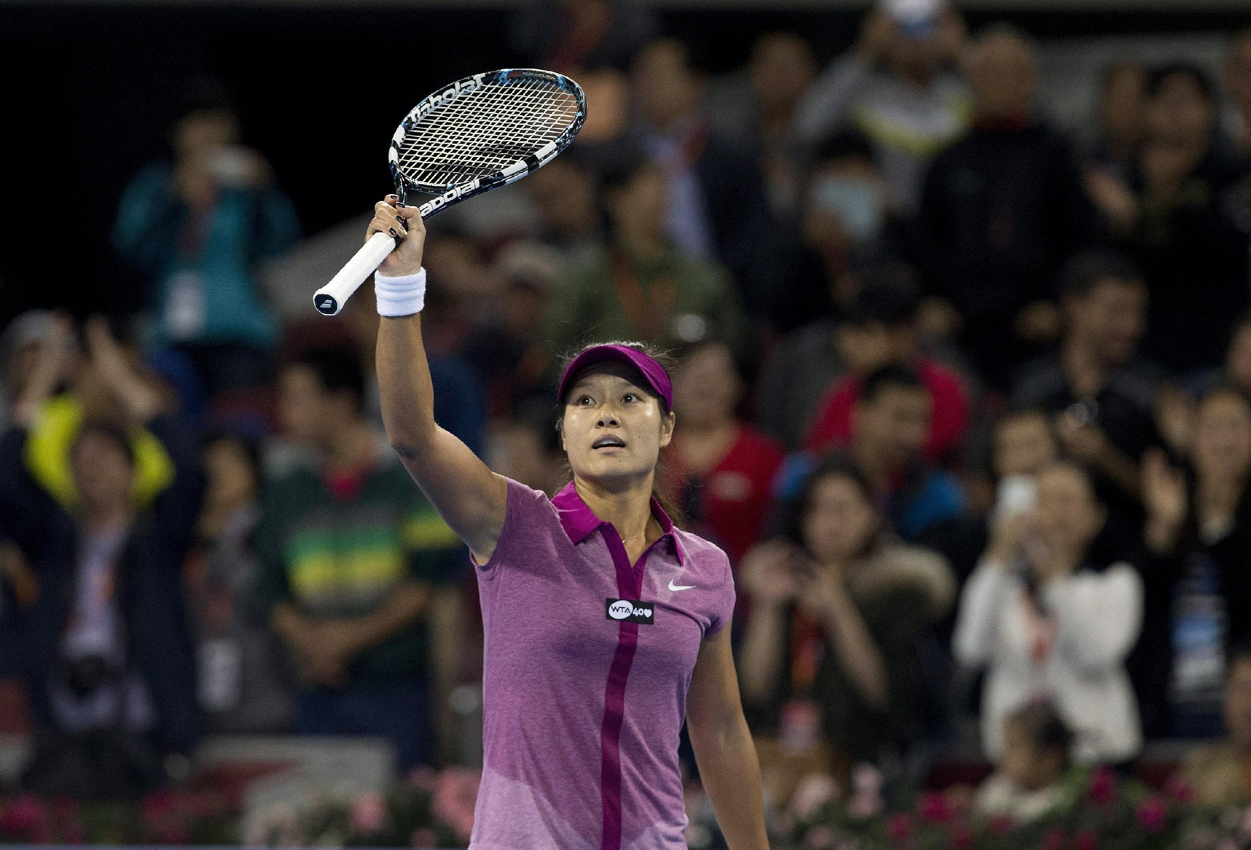 Li, Kvitova set up China Open quarter, Nadal wins