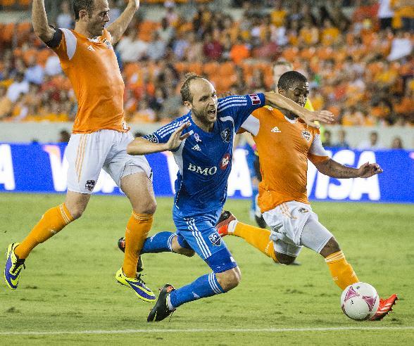 Clark scores in 6th minute, Dynamo beat Impact 1-0