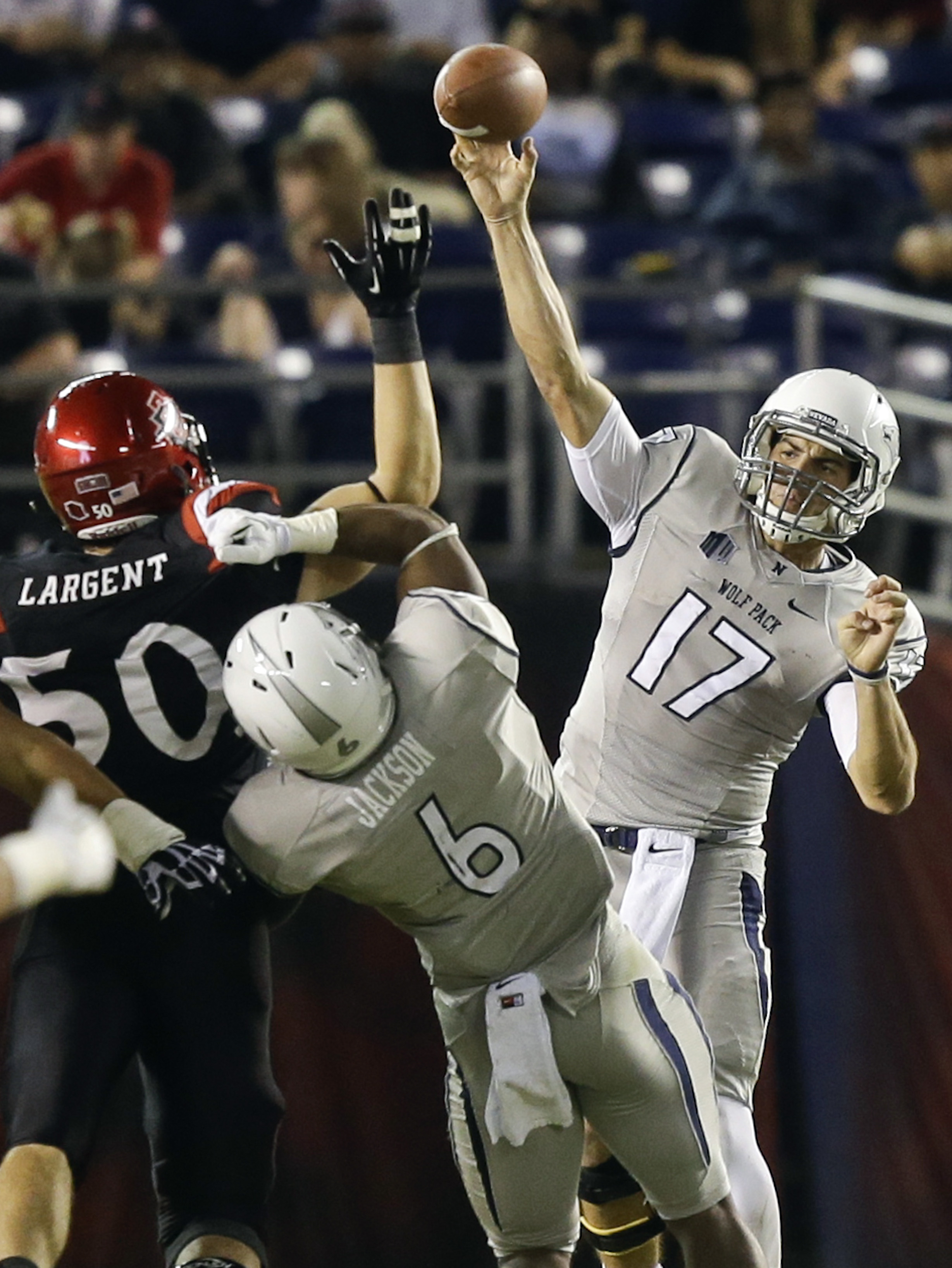 San Diego State beats Nevada 51-44 in overtime