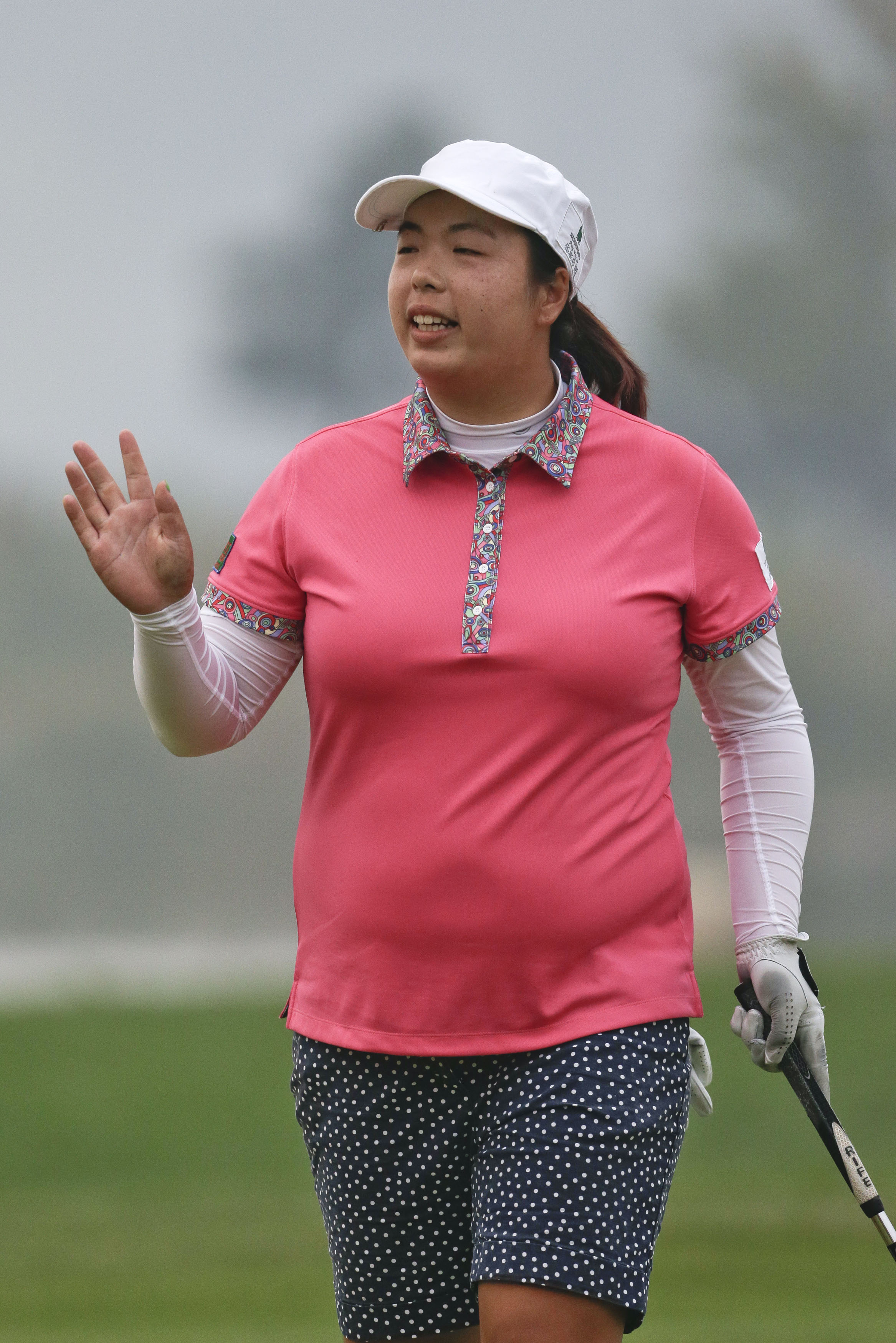 Feng takes 1-stroke lead at Reignwood Classic