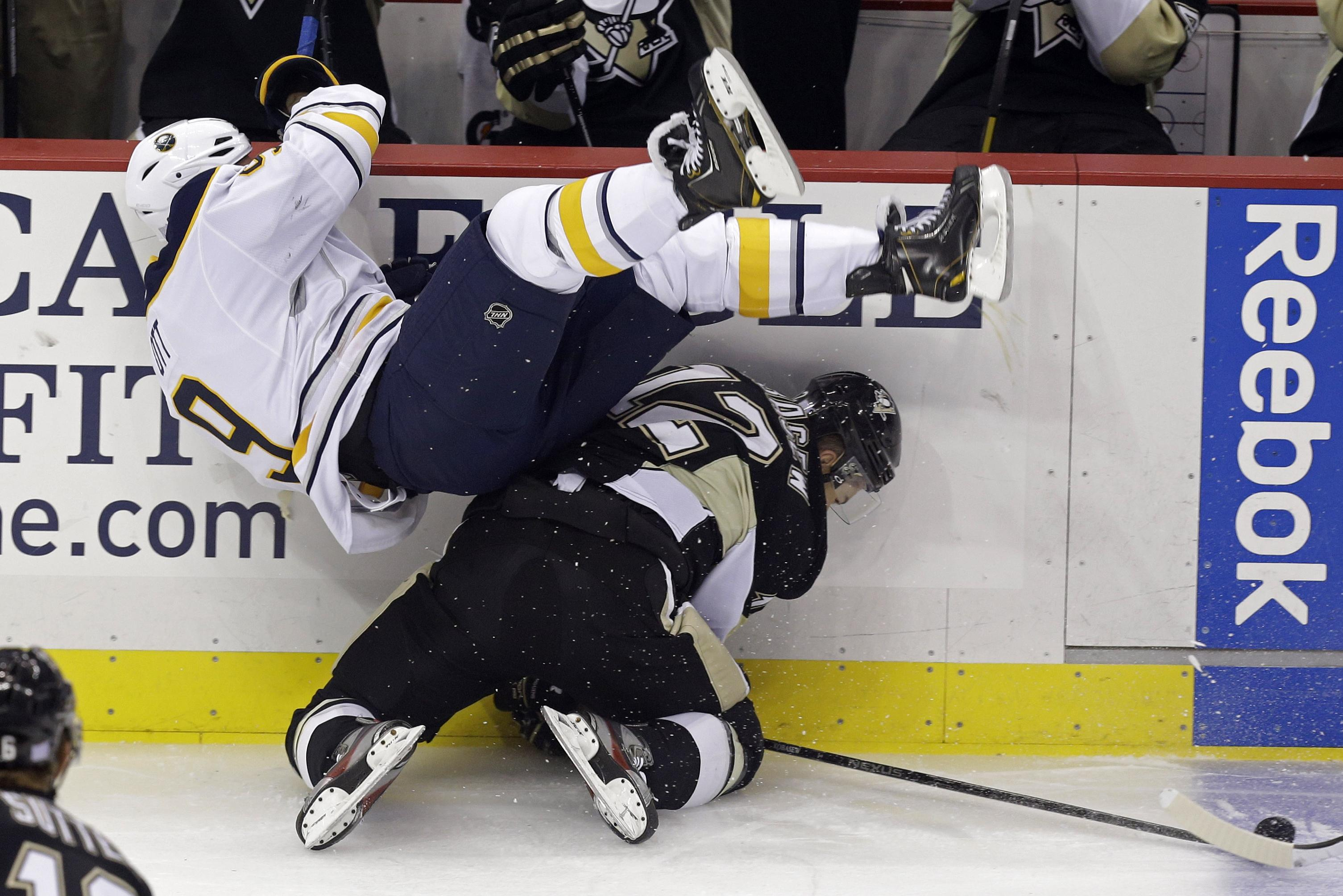 Crosby, Fleury lead Penguins past Sabres 4-1