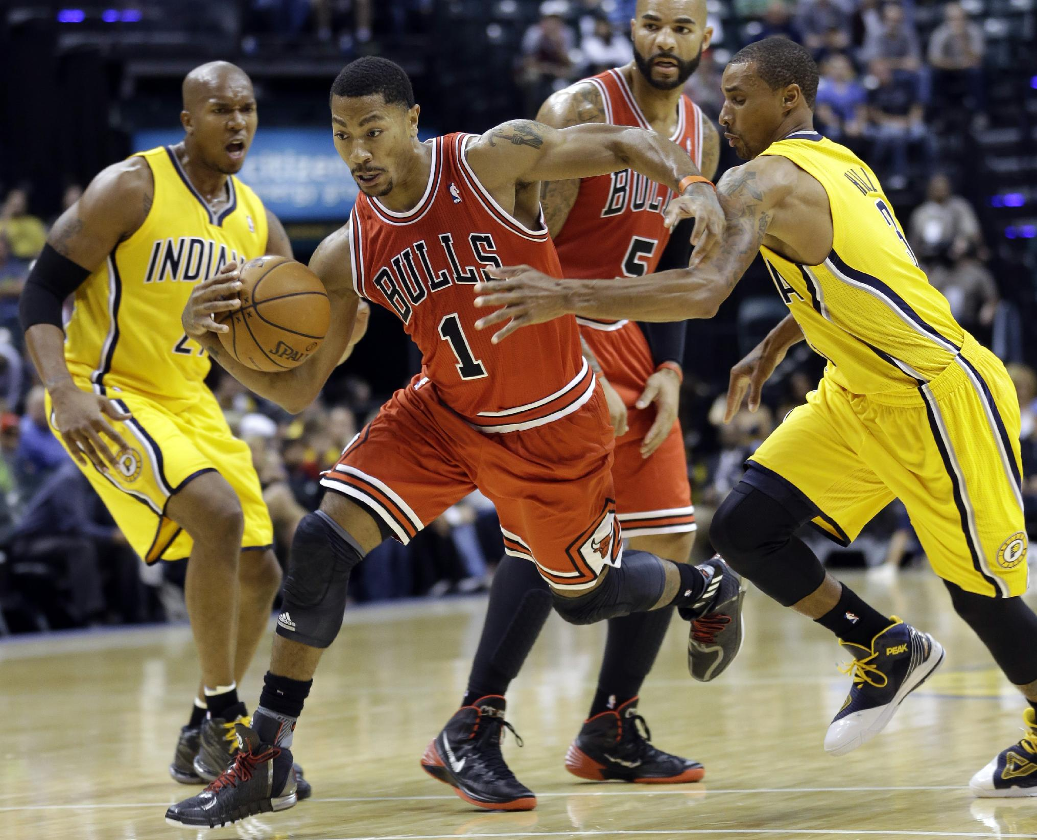 Rose thinks he is a better player than he was before having knee surgery. (AP)