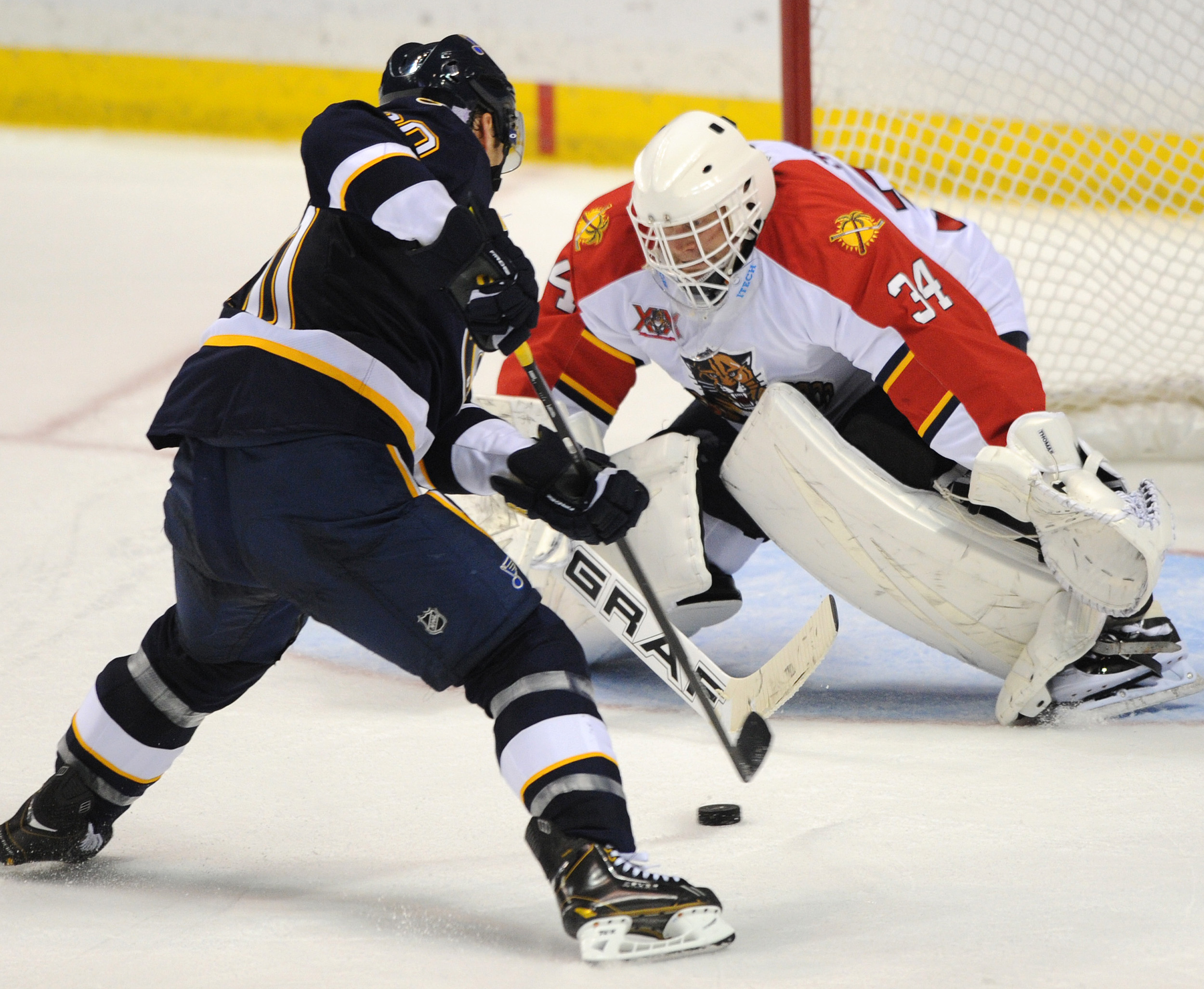 Blues too much for Panthers 7-0