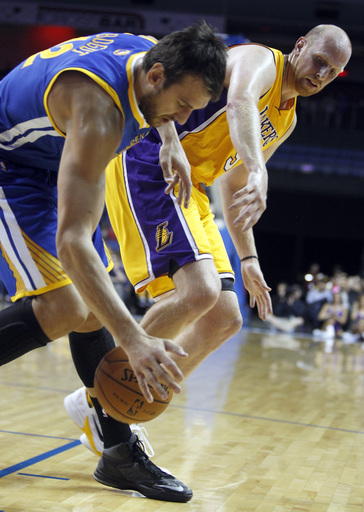 Henry, Young lead Lakers past Warriors 104-95
