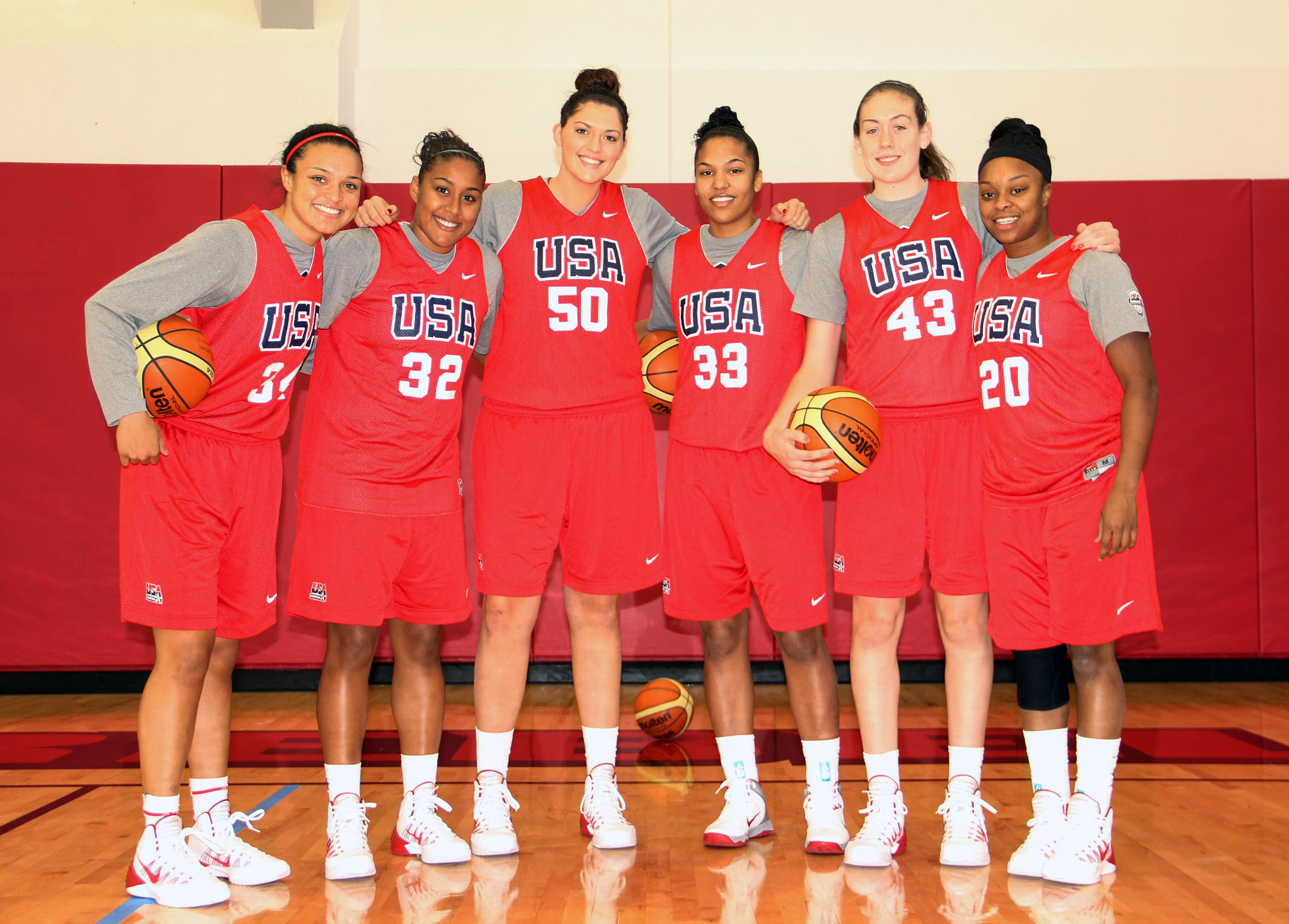 Stewart impresses at US women's hoops camp