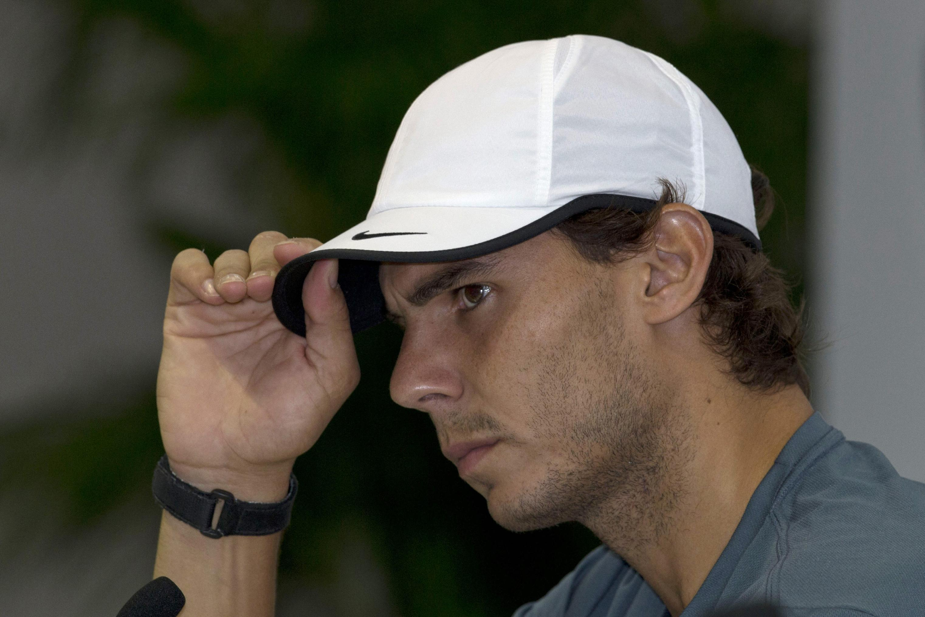 Nadal says he's done with tennis politics