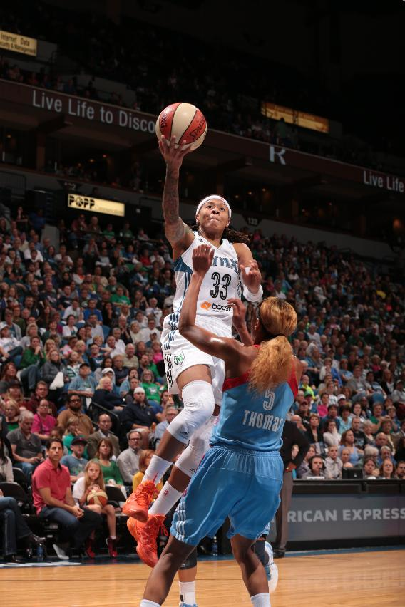Lynx blast Dream 88-63; 1 win from title