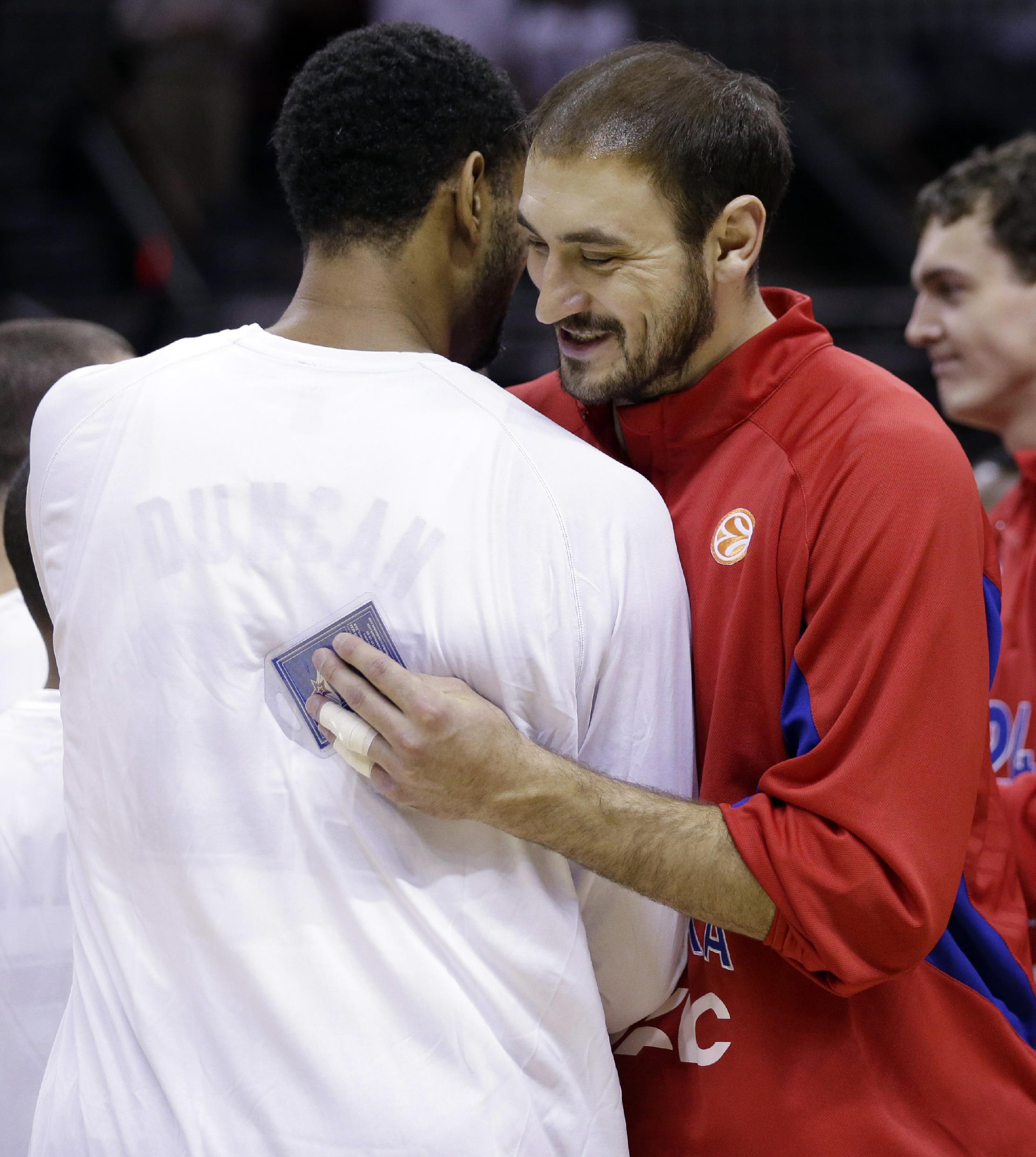 Spurs beat CSKA Moscow in OT