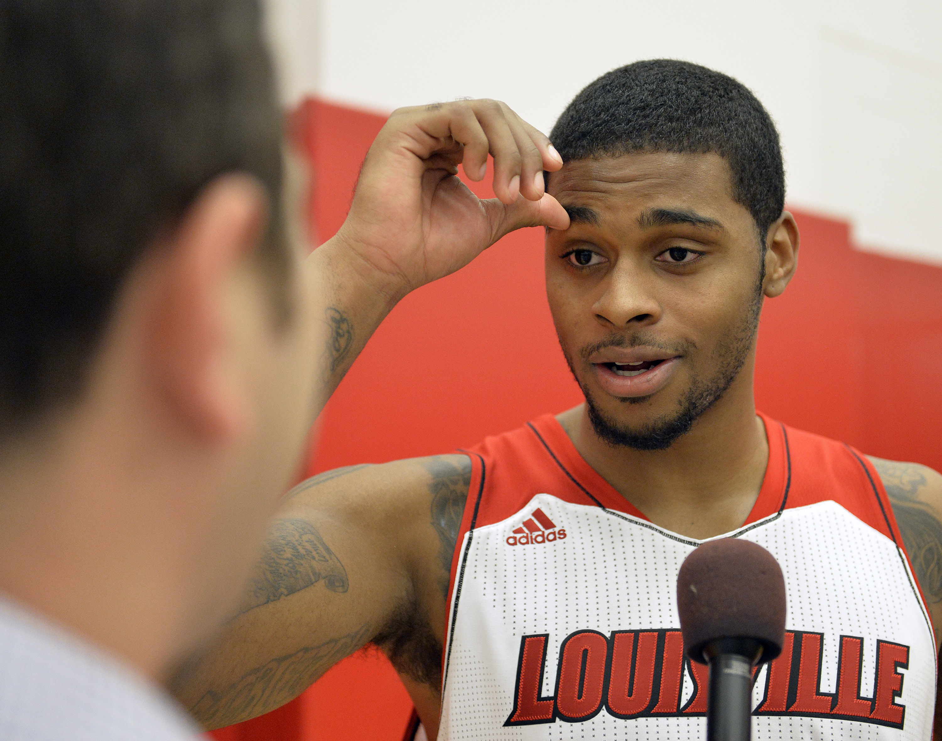 Chane Behanan was a key contributor to Louisville's title run last season. (AP)