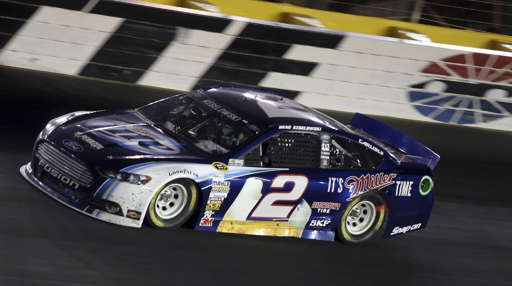 Keselowski finally gets a break, and a victory
