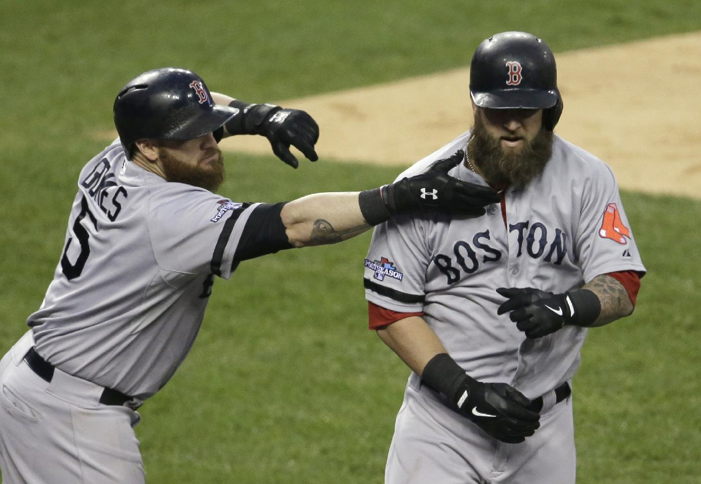Boston holds off Tigers 1-0 behind Lackey, bullpen