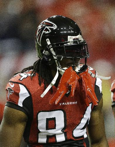 WR Roddy White to miss 1st game of his career