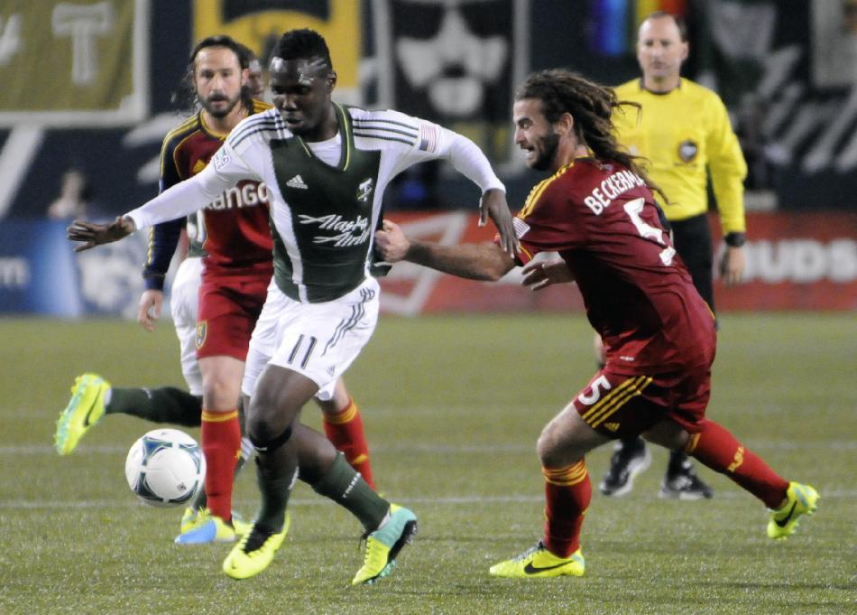 Timbers, Real Salt Lake play to 0-0 tie