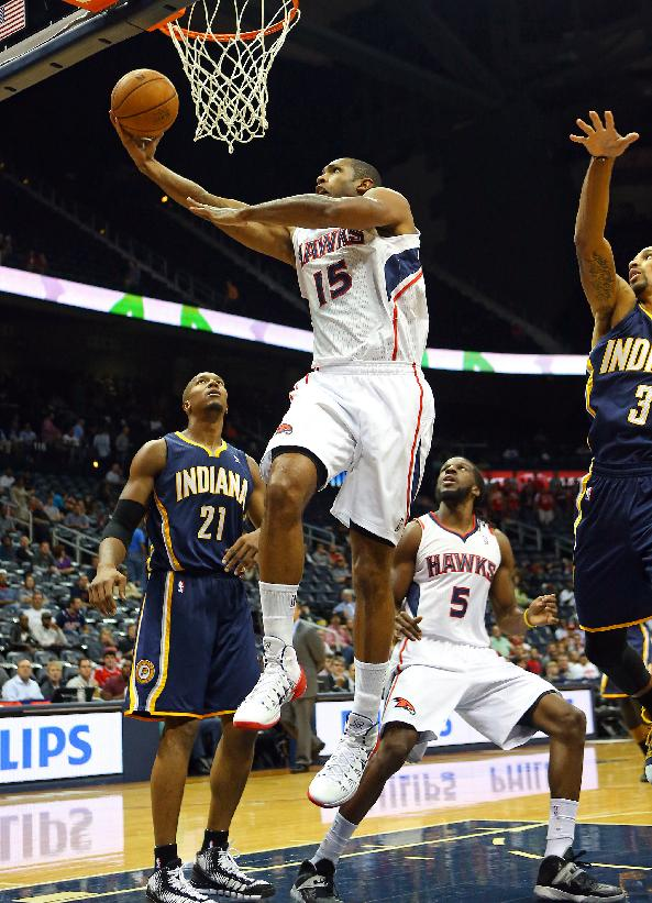 After massive turnover, Hawks are Horford's team